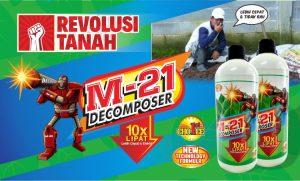 m21 decomposer tanah